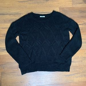 Timing | Black Sweater